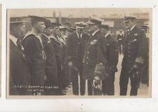 Sir David Beatty At Hastings 30 Jul 1919 RP Postcard Navy 626b