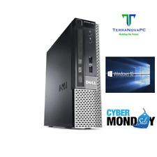 Custom Build Dell Desktop Computer i5 / 16GB / 1TB SSD / Windows 10 PC Wi-Fi