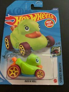 "Hot Wheels **DUCK N' ROLL** #132/250  HW STREET BEASTS #2/10 ""GREEN"""