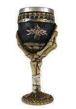 Skeleton Hand Wine Goblet / Chalice Bones Skulls Wicca Pagan Occult