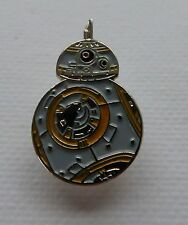 Metal Enamel Pin Badge Brooch Star Wars Starwars SW BB-8 BB8 Android Robot Grey