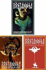 Britannia Vol. 1, 2 & 3 TPB set - Valiant Comics - Complete Series - Brand NEW!