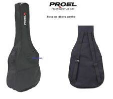 Proel Bag080as Borsa Custodia per Chitarra acustica Folk con Tracolle Regolabili
