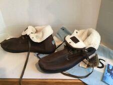 Mens Toms Botas HIGHLANDS Brown Fleece Lined High Top Ankle BOOTS Size 12