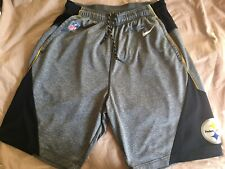 Nike DriFit Pittsburgh Steelers On Field Apparel Shorts See Description