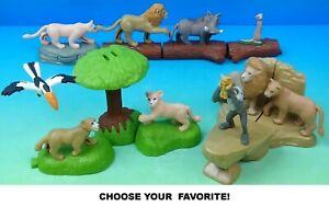 McDonald's 2019 Disney Lion King Figures-Choose Your Favorites!