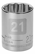 Craftsman 1/2 Metric Dual Laser Etched 12pt Socket - Any Size STD MM Point Tools