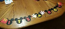 Mickey Mouse It's A Boy/Girl Baby Shower BannerCustom Made in USA -FREE SHIPPING