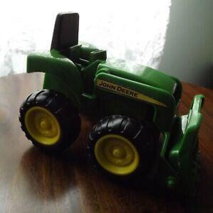 John Deere Green Plastic Toy Tractor