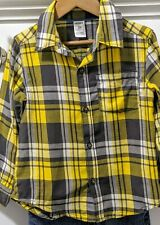 Boys 3T Outfit Button Up Shirt & Jeans Place Carter's