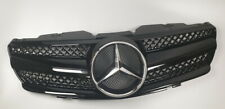 Mercedes Benz R230 SL500 grille 100% glossy +$50 microfiber towel FREE