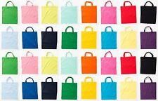 Jutebeutel farbig kurze Henkel Stofftasche Baumwolltasche Einkaufstasche