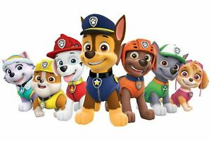 Paw Patrol Poster Bedroom Wall Art Printed on A3 Gloss Photo Paper