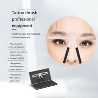 Eyebrow Balance Ruler Metal Tattoo Shaping Stencil Permanent Eyebrow RulerTEU qt