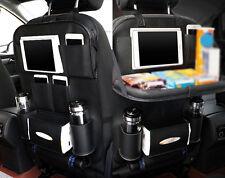 HOT! Leder Auto Rücksitz Tablet iPad Organizer Multi Tasche Rückenlehnenschutz