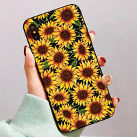 Sunflower Matte Hard Phone Case Cover For iPhone 6 7 8 Samsung S9 S8 Huawei P10