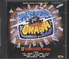 Thrash & Crash 17 rockhard hits CD(vgc) ac/dc alice cooper etc