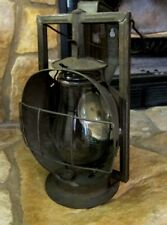Rare Vintage Dietz ACME Inspector Railroad Lantern Clear Glass Kerosene Oil Lamp