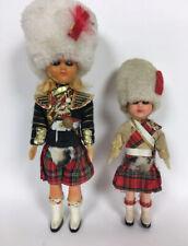 New ListingTwo 1950-1960s Souvenir Dolls British Royal Guard England Vintage