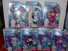 Fingerlings Lot Of 7 New In Box 100% Authentic Gigi Unicorn Purple Black Pink