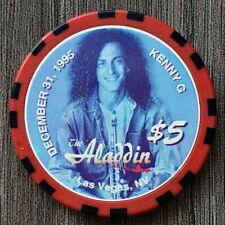 "New listing Aladdin Las Vegas $5 *Kenny G.* ""Uncirculated"""