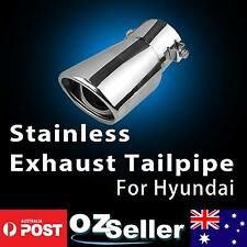 60MM Inlet Performance Stainless Steel Exhaust Muffers Tip Pipe For Hyundai i30