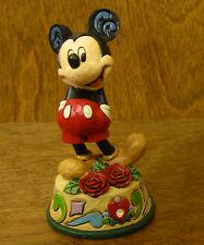 "Jim Shore Disney Traditions #4033963 MICKEY MOUSE, JUNE BIRTHDAY, Enesco NIB  4"""