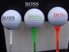 3 x Hugo Boss - Titleist Golf Ball Pack