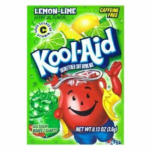 Kool-Aid Drink Mix Lemon-Lime 20 Count