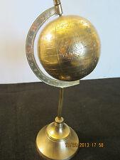Maritime Navigational Solid Brass World Globe