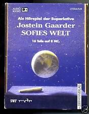 Jostein Gaarder-Sofies Welt--Hörspiel- 8 MC -in Box-