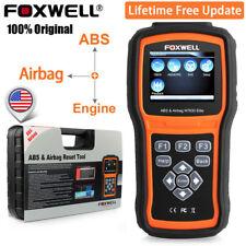 Foxwell ABS SAS SRS Reset Tool Engine Code Reader OBD2  Car Diagnostic Scanner