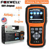 Foxwell NT630 ABS SAS SRS Reset Tool Engine Code Reader OBD2 Diagnostic Scanner