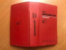 Guide Michelin France 1981
