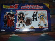 Irwin Dragon Ball Z Action Figure: Collector Pack: Raditz, Nappa, Master Roshi