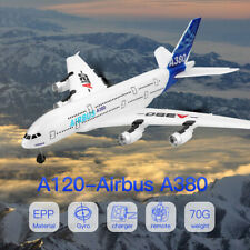 Remote Control Airplane 2.4G 6-Axis Airbus A380 3 Channel Ourdoor RC Plane EPP