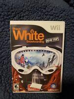 Shaun White Snowboarding Road Trip Nintendo Wii Snowboarding Game Complete
