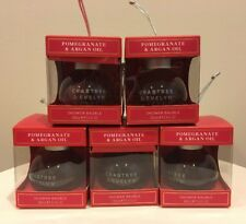 5 Crabtree & Evelyn POMEGRANATE & ARGAN OIL Shower Bauble - 3.4 oz / 100 mL Each