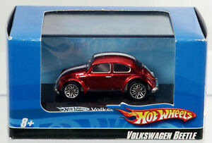 Hot Wheels Volkswagen Beetle #N0236 Never Removed from Box 2007 Red 1:87 Scale