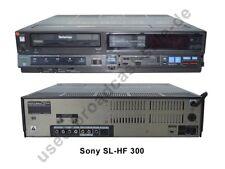 Sony SL-HF 300 - NTSC Betamax Rekorder - Rarität