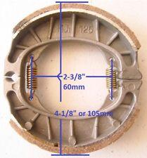 Brake Pad Shoe 105MM O.D For Mini Bike MB165 MB200 Baja Motorsports 139QMB GY6