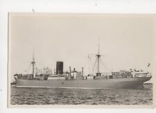 Koninklijke Rotterdamsche Lloyd Steamship MS Tosari Vintage RP Postcard 116b