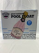 Bigmouth Inflatable Giant Rose' Bottle Pool Float (5ft 8in Tall