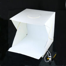 UK 40cm Foldable Photo Studio Shooting LED Lighting Tent Kit Portable Mini Soft
