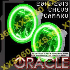 ORACLE Chevrolet Camaro 10-13 GREEN Surface Mount LED Foglight Halos WATERPROOF