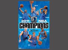 Dallas Mavericks 2011 NBA CHAMPIONS 6-Player Commemorative POSTER - Nowitzki +++