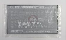 Verlinden 1/35 US Army Vehicle Markings, Names and Stars WWII (White) DTMI 301