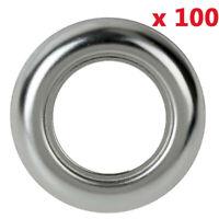 100 Pcs Stainless Steel Trim Ring Bezel Cover For 3/4 Inch LED Marker Lights