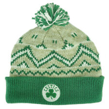 NBA Adidas Boston Celtics KE76Z Green Alpine Cuffed Pom Knit Beanie Toque Hat