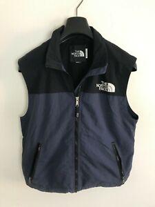 Mens Vintage North Face Jacket / Coat Medium / Large Gilet Vest Body Warmer Blue